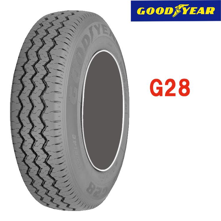 タイヤ グッドイヤー 10インチ 4本 145/R10 6PR 10A00010 GOODYEAR G28