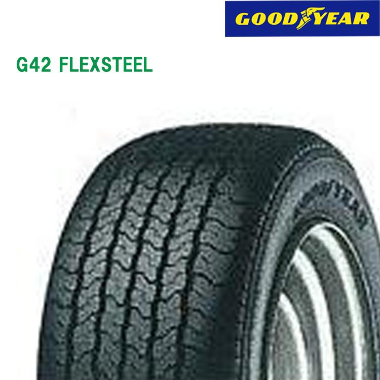 タイヤ グッドイヤー 12インチ 4本 145/R12 6PR G42 フレックススチール 10AA0102 GOODYEAR G42 FLEXSTEEL
