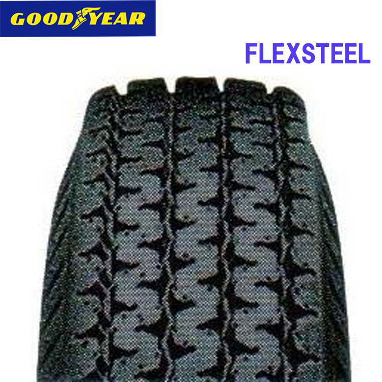 タイヤ グッドイヤー 15インチ 2本 6.5/R15 8PR フレックススチール 10B04962 GOODYEAR FLEXSTEEL