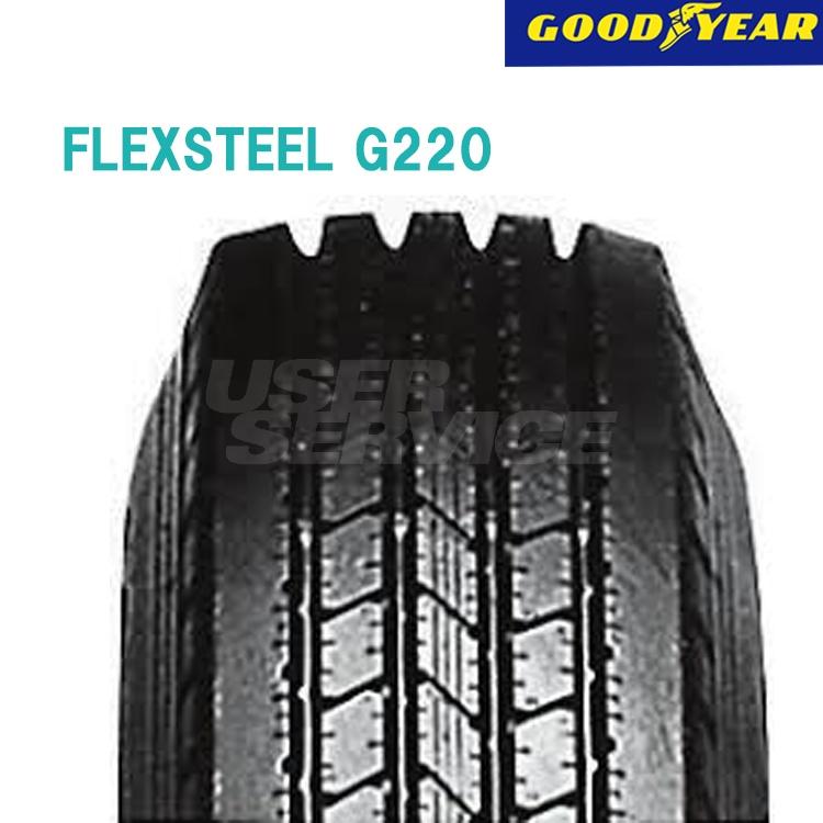 タイヤ グッドイヤー 16インチ 1本 7/R16 12PR フレックススチール G220 10B05230 GOODYEAR FLEXSTEEL G220