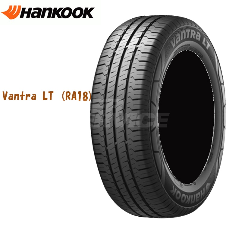 16インチ 215/65R16 109/107R ハンコック バントラLT RA18 4本 1台分セット 夏 ラジアルタイヤ Hankook Vantra LT