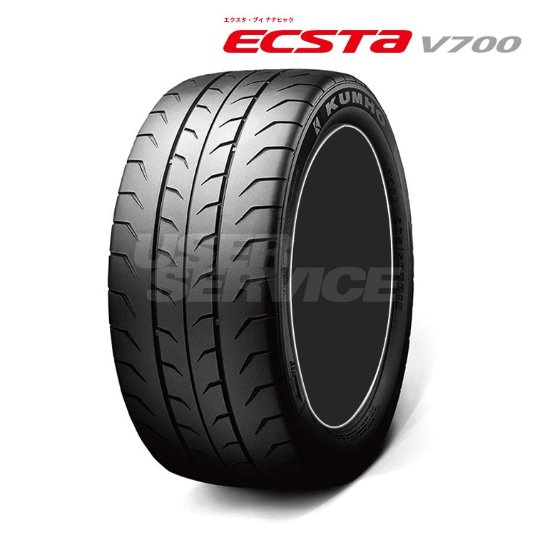 16インチ 245/45R16 94W 2本 サマー タイヤ スポーツタイヤ クムホ エクスタ V700 V70A KUMHO ECSTA