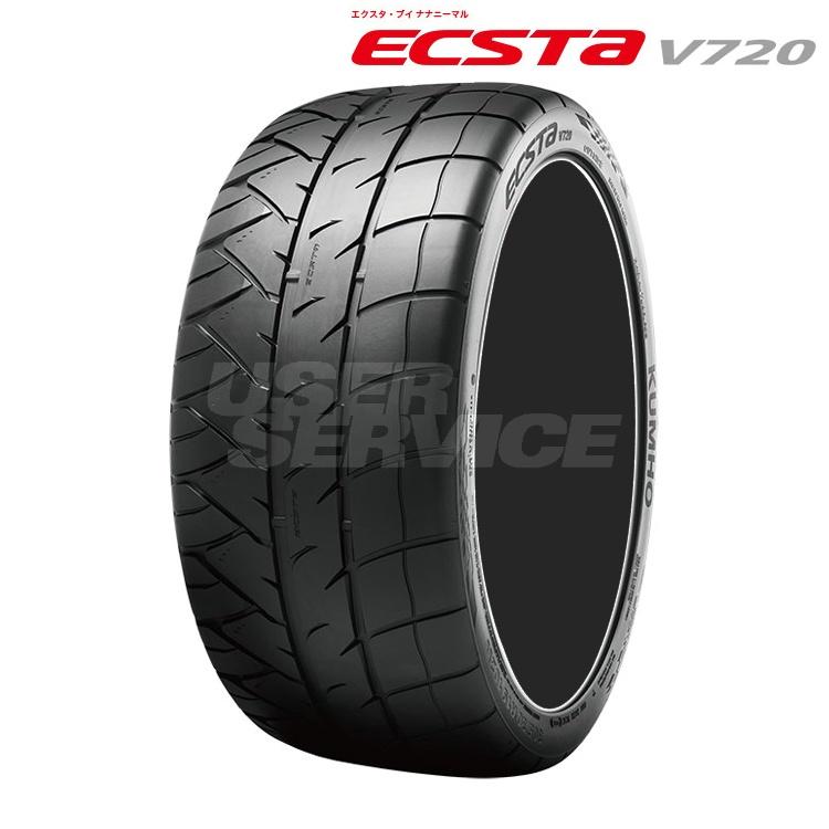 17インチ 255/40R17 98W 2本 サマー タイヤ スポーツタイヤ クムホ エクスタ V720 KUMHO ECSTA