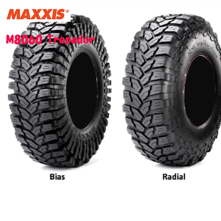 15インチ 35X12.50R15 LT 113Q 6PR 4本 ブラックサイドウォール 4WDラジアルタイヤ マキシス トレパドール MAXXIS M8060 TREPADOR 個人宅追加金有 要在庫確認