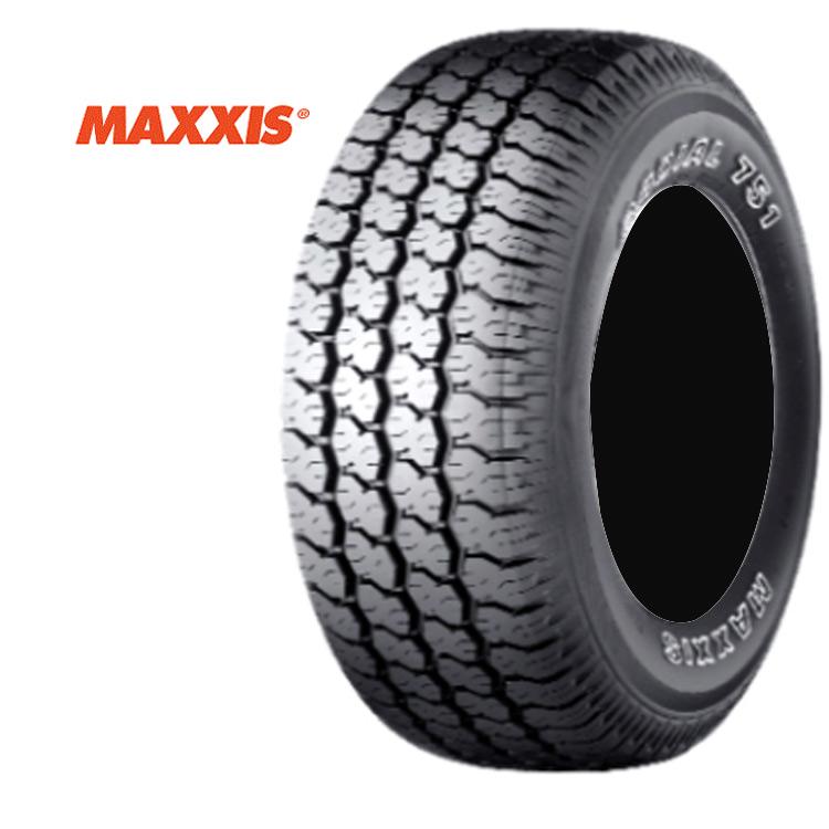 16インチ P265/70R16 112S 1本 アウトラインホワイトレター 4WD オールテレーン マキシス ブラボーシリーズ MAXXIS MA-751 BRABO 個人宅追加金有 要在庫確認
