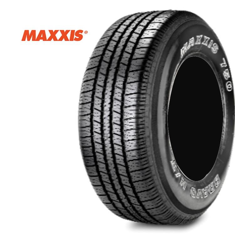 15インチ P295/50R15 108S 1本 アウトラインホワイトレター SUVタイヤ マキシス ブラボーシリーズ MAXXIS HT-750 BRAVO 個人宅追加金有 要在庫確認