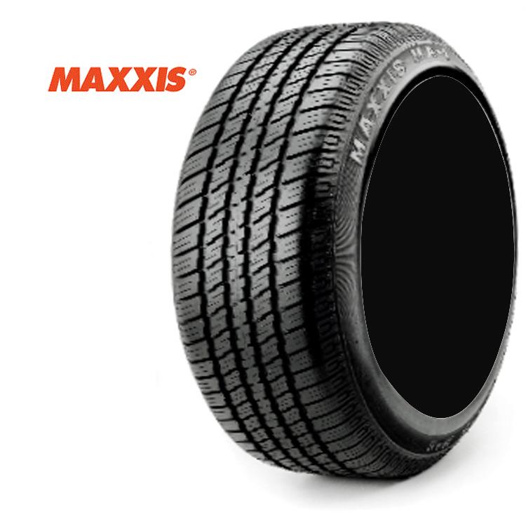 14インチ 195/75R14 92S 4本 ホワイトリボン サマータイヤ マキシス MAXXIS MA-1 個人宅追加金有 要在庫確認