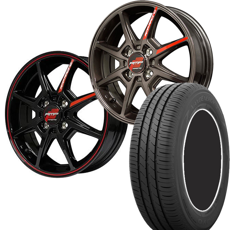 175/60R16 175 60 16 ナノエナジー3プラス 3+ TOYO トーヨー タイヤ ホイール セット RMP レーシング R25 1本 16インチ 4H100 6.0J 6J R25