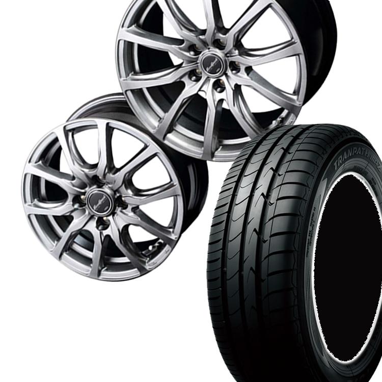 205/60R16 205 60 16 トランパスmpZ TOYO トーヨー タイヤ ホイール セット マナレイ スポーツ ユーロスピード G52 1本 16インチ 5H114.3 6.5J EuroSpeed G52
