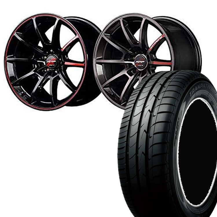 225/50R18 225 50 18 トランパスmpZ TOYO トーヨー タイヤ ホイール セット RMP レーシング R25 4本 18インチ 5H100 7.5J R25