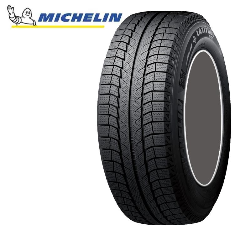 18インチ 245/60R18 105T 4本 SUV用 スタッドレスタイヤ ミシュラン ラティチュードエックスアイスXI2 チューブレスタイプ MICHELIN LATITUDE X-ICE XI2