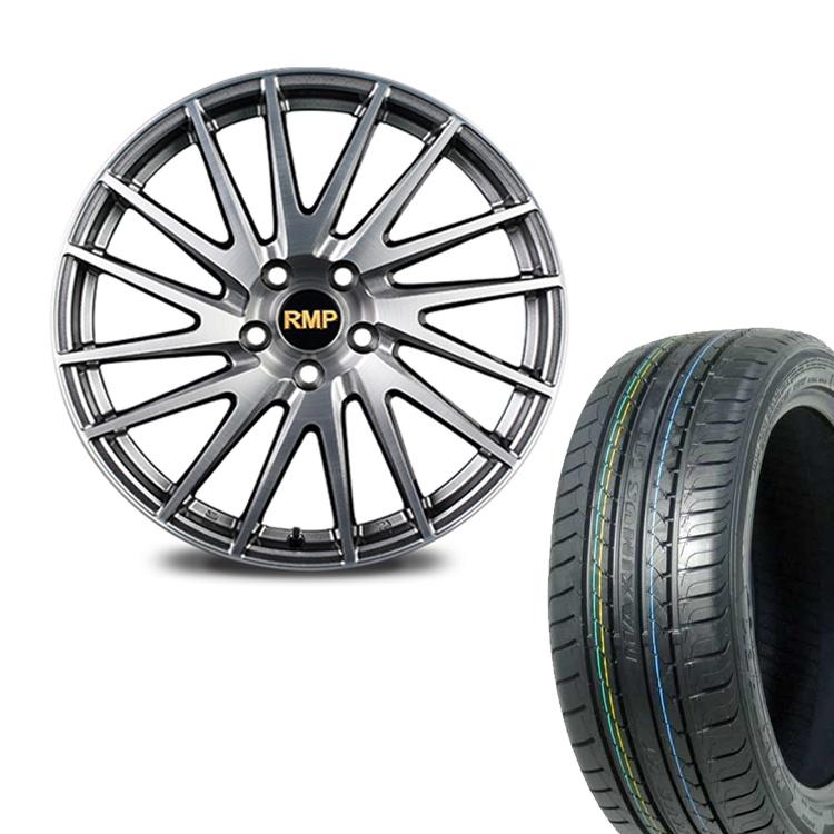 205/55R17 205 55 17 特選輸入タイヤ サマー タイヤホイールセット 4本 1台分セット 17インチ 5H114.3 7.0J+55 RMP 016F マルカ