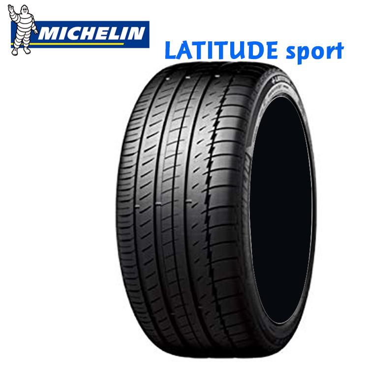 21インチ 275/45R21 110Y XL 4本 サマータイヤ ミシュラン ラティチュードスポーツ チューブレスタイプ MICHELIN LATITUDE Sport