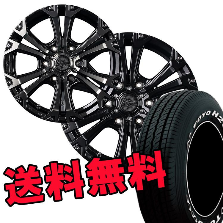 ナイトロパワー タイヤ ホイール セット 4本 16インチ 6H6.5J 6.5J+38 JAVELIN ジャベリン TOYO H20 215/65R16109R TYH20 TLSS WE 215 65 16109R