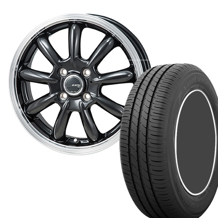 215/45R18 215 45 18 ナノエナジー3プラス 3+ TOYO トーヨー タイヤ ホイール セット モンツァジャパン JP スタイル バーニー 4本 18インチ 5H114.3 7.5J JP STYLE Bany