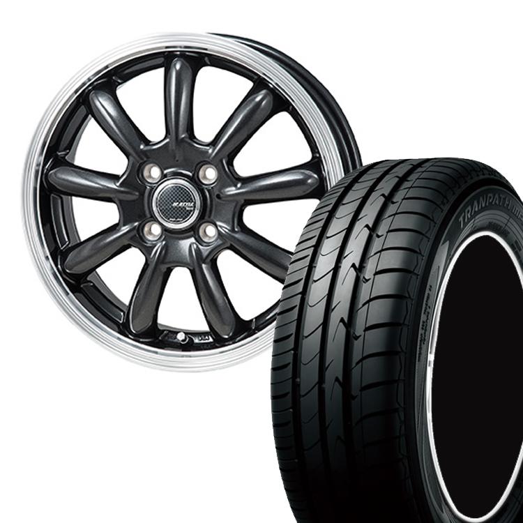 205/55R17 205 55 17 トランパスmpZ TOYO トーヨー タイヤ ホイール セット モンツァジャパン JP スタイル バーニー 1本 17インチ 5H114.3 7.0J 7J JP STYLE Bany
