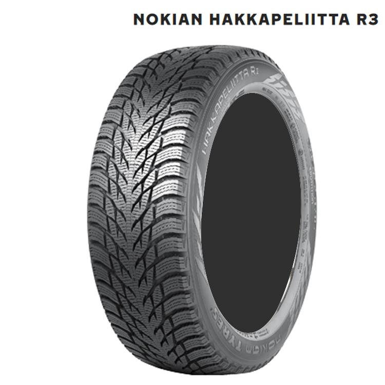 19インチ 4本 255/45R19 ノキアン ハッカペリッタ スタットレス Nokian Hakkapeliitta R3 スタッドレスタイヤ