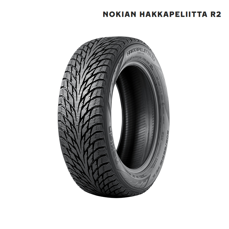 スタッドレスタイヤ ノキアン 18インチ 1本 245/45R18 ハッカペリッタ スタットレス Nokian Hakkapeliitta R2