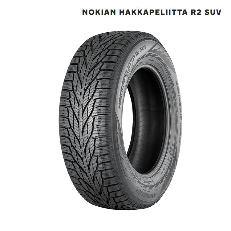 スタッドレスタイヤ ノキアン 18インチ 2本 225/55R18 ハッカペリッタ スタットレス Nokian Hakkapeliitta R2 SUV