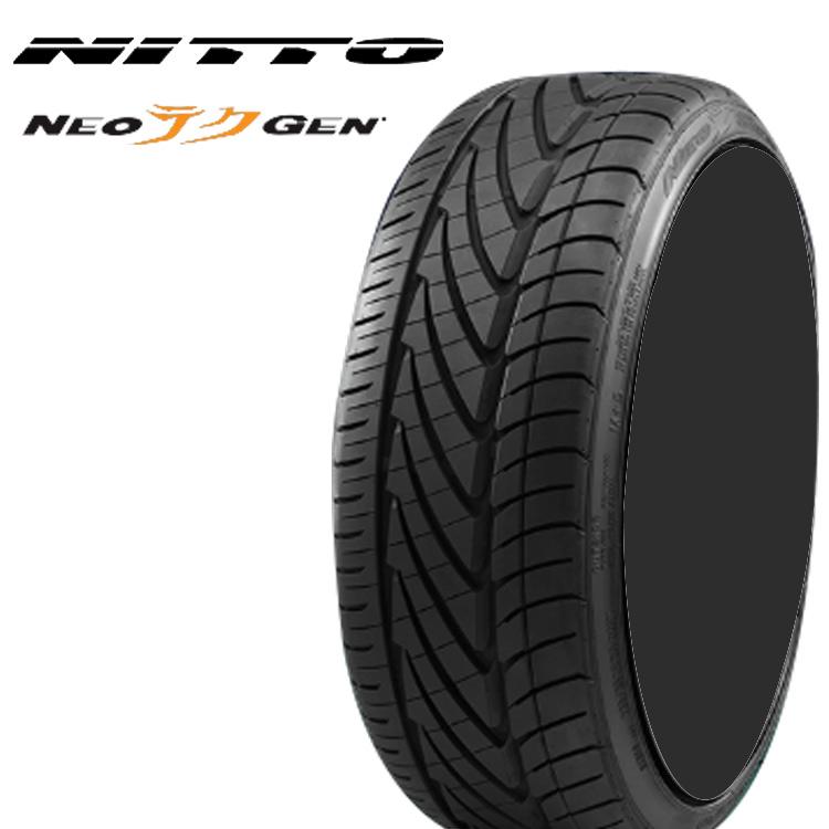 サマータイヤ ニットー 19インチ 4本 215/35ZR19 85W XL ネオジェン ネオゲン ネオテクゲン NITTO NEOGEN