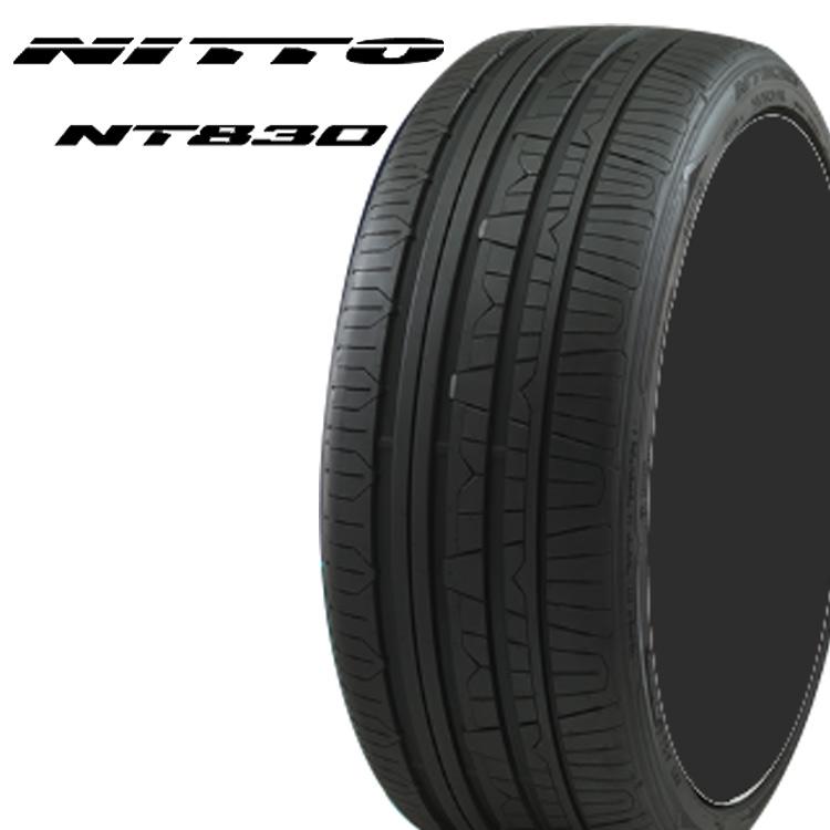 17インチ 215/45R17 91W 4本 サマータイヤ XL ニットー NITTO NT830