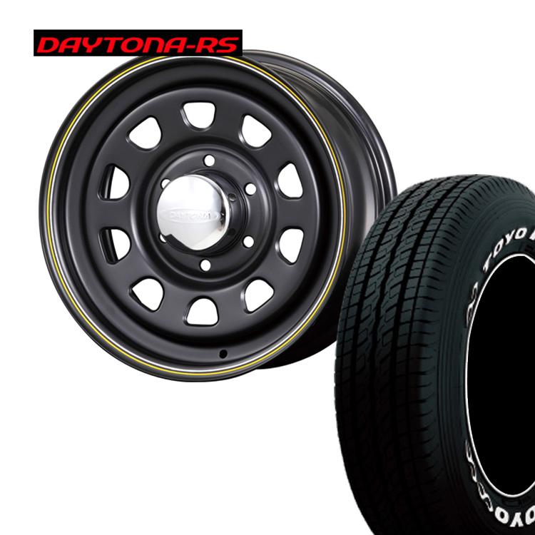 195/80R15 107L/ 195 80 15 107L TOYO H20 ハイエース200用 4本 タイヤ ホイールセット DAYTONA-RS 15インチ 6H139.7 6.5J+40 オリジンラボ納期未定