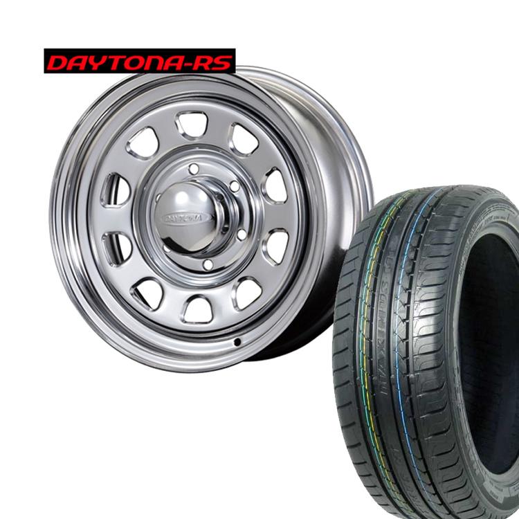 215/65R16 215 65 16 特選輸入タイヤ MAXTREK SU-830 ハイエース200用 4本 タイヤ ホイールセット DAYTONA-RS 16インチ 6H139.7 6.5J+45 オリジンラボ納期未定