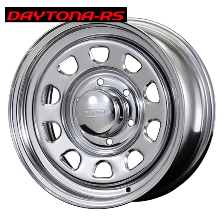 15インチ 6H139.7 6.5J+40 6穴 デイトナRS ホイール 4 本 1台分セット クローム エースロードスター DAYTONA-RS Roadster 欠品中納期未定