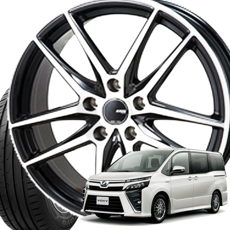 ヴォクシー用 15インチ ナノエナジー3+ 4本 1台分セット 195/65R15 195 65 15 JP スタイル グリッド 5H114.3 6.0J 6J+53 タイヤ ホイールセット TOYO トーヨー モンツァジャパン