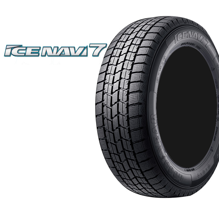 スタッドレス タイヤ グッドイヤー 14インチ 1本 165/60R14 165 60 14 75Q アイスナビ7 冬 スタットレス GOOD YEAR ICE NAVI7