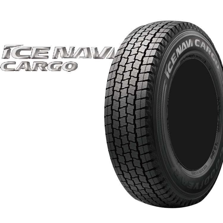 スタッドレス タイヤ グッドイヤー 14インチ 1本 175/R14 6PR 175 14 6PR アイスナビカーゴ 冬 スタットレス GOOD YEAR ICE NAVI CARGO