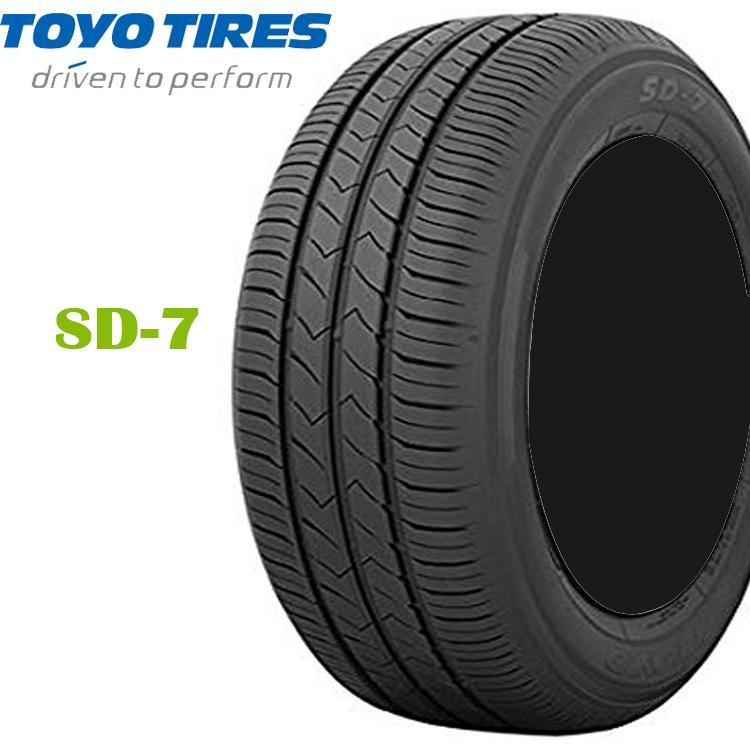 17インチ 215/45R17 87W 4本 低燃費 ECO 夏 サマータイヤ トーヨー SD7 TOYO SD-7
