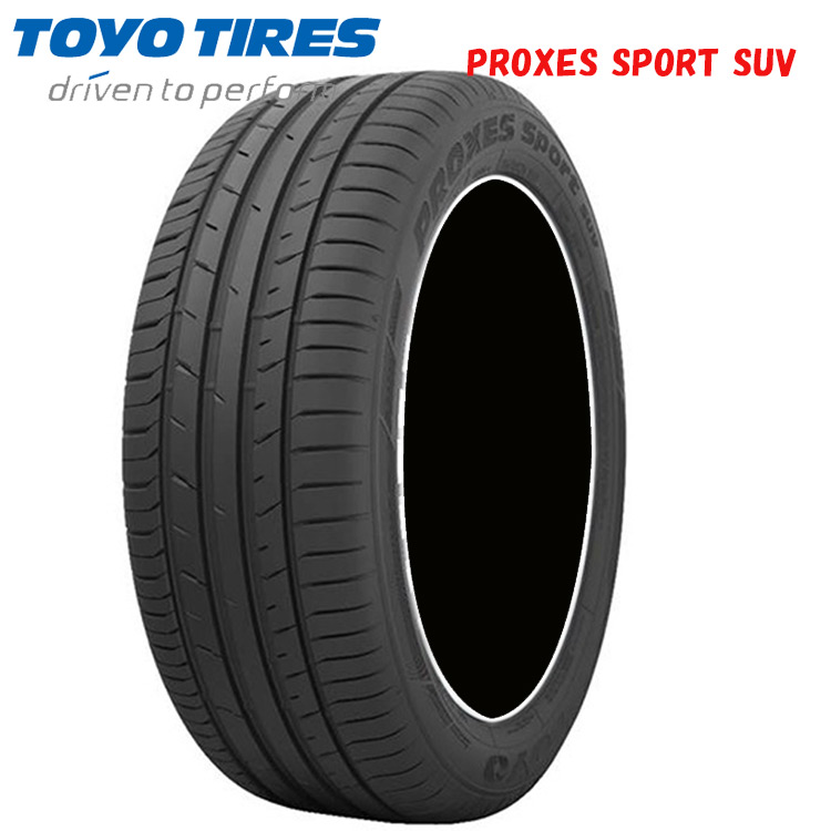 17インチ 275/55R17 109W 2本 夏 サマータイヤ トーヨー プロクセススポーツ SUV TOYO PROXES SPORT SUV
