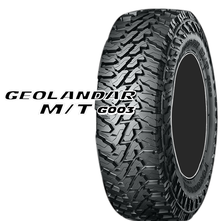 17インチ 35X12.5R17 121Q SUV クロスオーバー用 タイヤ マッドテレーン 2本 ヨコハマ ジオランダーMT G003 YOKOHAMA GEOLANDAR M/T G003