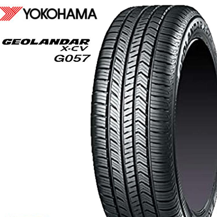 22インチ 265/40R22 W XL SUV 新品サマー 夏タイヤ 1本 ヨコハマ ジオランダー X-CV G057 YOKOHAMA GEOLANDAR 安い 個人宅発送追金有 F