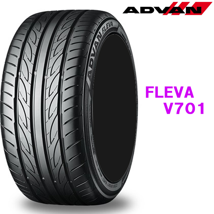 245/40R20 99W EX 1本 20インチ タイヤ ヨコハマ アドバンフレバV701 YOKOHAMA ADVAN FLEVA V701