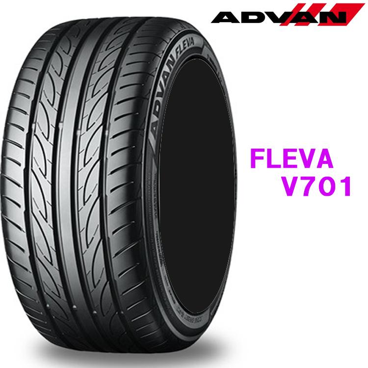 215/45R18 93W EX 4本 18インチ タイヤ ヨコハマ アドバンフレバV701 YOKOHAMA ADVAN FLEVA V701