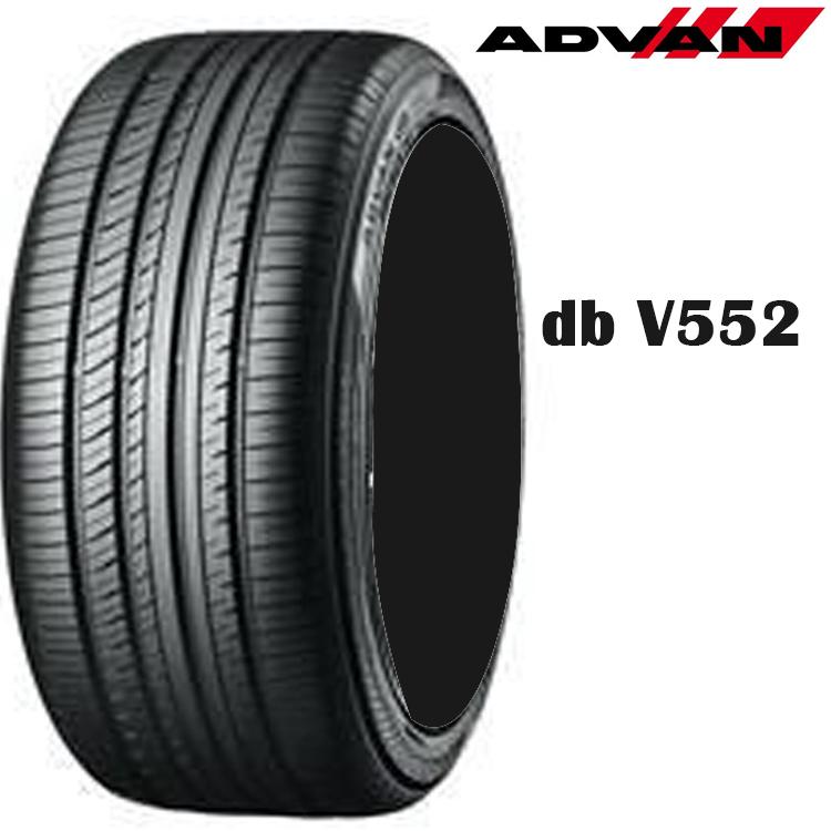 17インチ 235/55R17 99V 4本 夏 サマー 低燃費タイヤ ヨコハマ アドバンデジベルV552 チューブレスタイヤ YOKOHAMA ADVAN dB V552