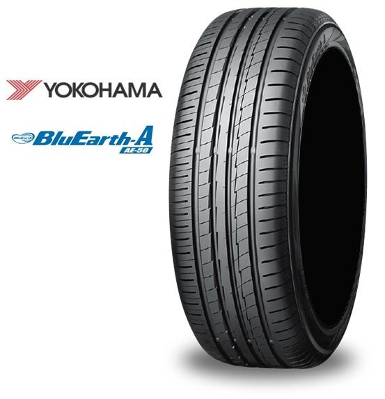 18インチ 235/55R18 104W EX 4本 夏 低燃費タイヤ ヨコハマ ブルーアース チューブレス YOKOHAMA BluEarth-A AE50