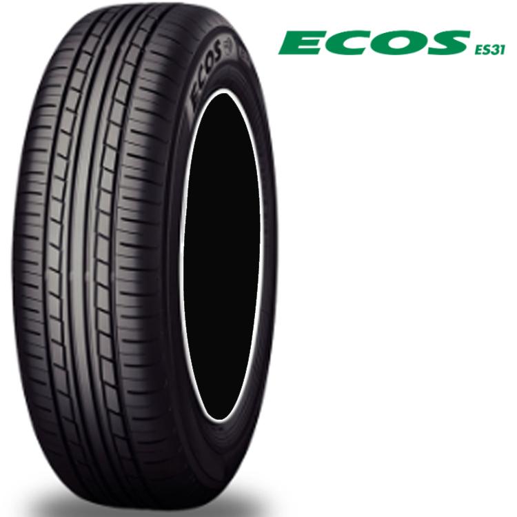 14インチ 185/70R14 88S 4本 低燃費 タイヤ ヨコハマ エコス ES31 チューブレスタイヤ YOKOHAMA ECOS ES31