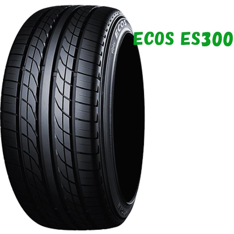 17インチ 235/45R17 93W 4本 低燃費 タイヤ ヨコハマ エコス ES300 チューブレスタイヤ YOKOHAMA ECOS ES300