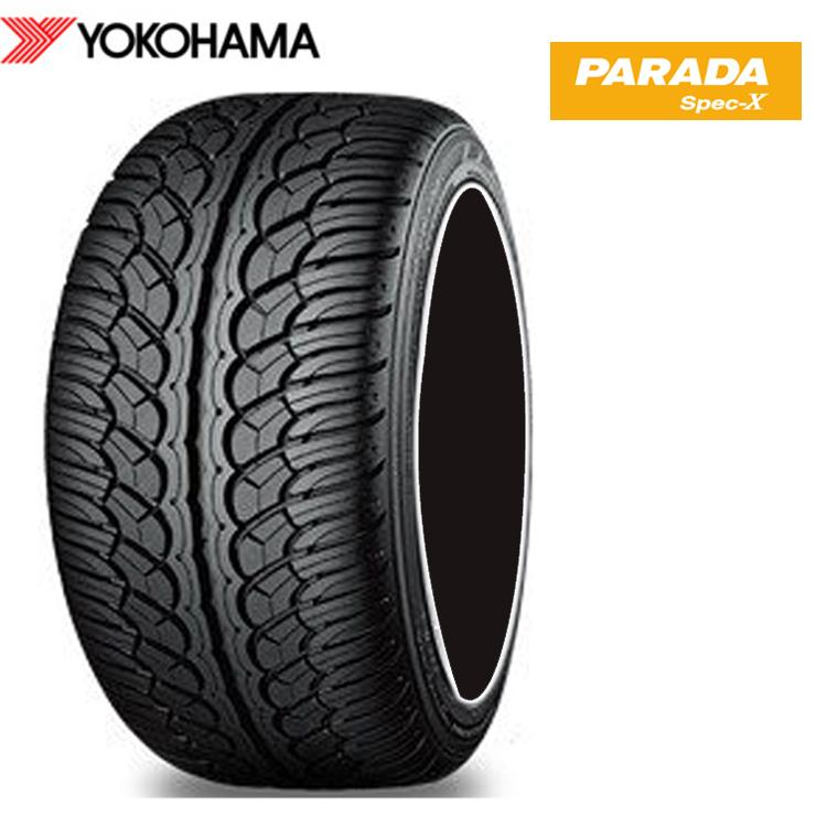22インチ 285/45R22 114V XL 4本 新品 夏 サマータイヤ ヨコハマ パラダ スペックX PA02 YOKOHAMA PARADA Spec-X 個人宅発送追金有 SUV 安いH