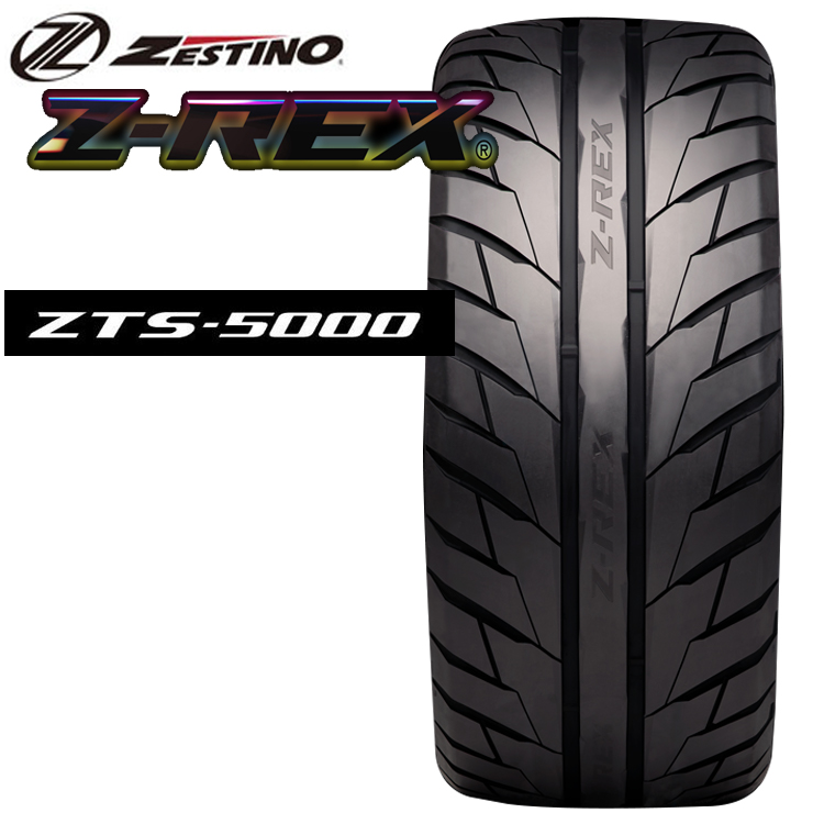 18インチ 245/40R18 2本 ゼスティノ Z-REX ZTS-5000 夏 サマー スポーツタイヤ ゼットレックス ZTS5000 ZESTINO