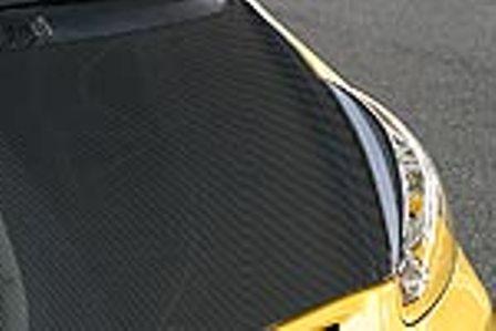 乱人 フィット GD1~4 カーボンボンネット RANDO Black Edition