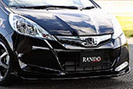 乱人 フィット GP1 フロントアンダースポイラー 未塗装 RANDO RANDO Style
