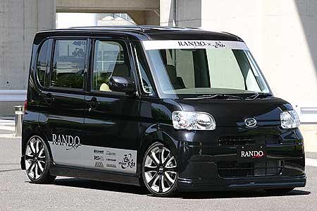 乱人 タント L375S 前期 3点フルキット 未塗装 RANDO RANDO Style