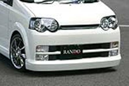 乱人 ムーヴカスタム L150系 前期 フロントハーフスポイラー 未塗装 RANDO RANDO Style