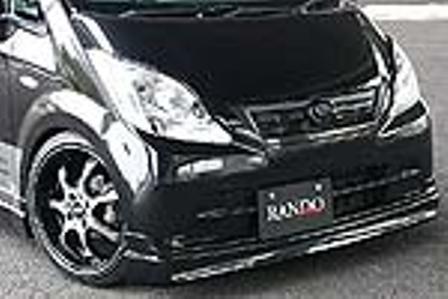 乱人 ムーヴ L175系 後期 フロントハーフスポイラー 未塗装 RANDO RANDO Style