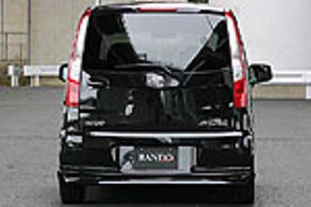 乱人 ムーヴ L175系 後期 リアハーフスポイラー 未塗装 RANDO RANDO Style