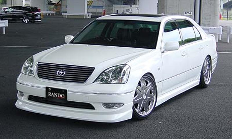 乱人 セルシオ 30系 前期 3点フルキット 未塗装 RANDO RANDO Style